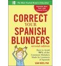 Correct Your Spanish Blunders - Jean Yates