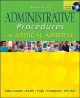 Administrative Procedures for Medical Assisting with Student CD and Bind-In Card