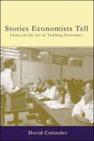 The Stories Economists Tell
