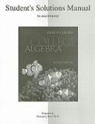 Student Solutions Manual to Accompany College Algebra