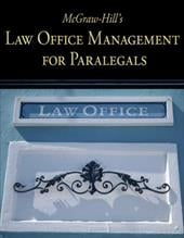 McGraw-Hill's Law Office Management for Paralegals - Schaffer, Lisa / Wietecki, Andrew