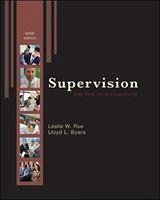 Supervision - Rue, Leslie W. Byars, Lloyd L.