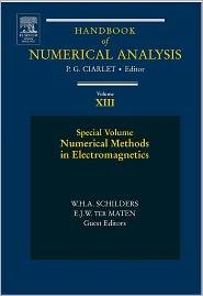 Numerical Methods in Electromagnetics: Special Volume