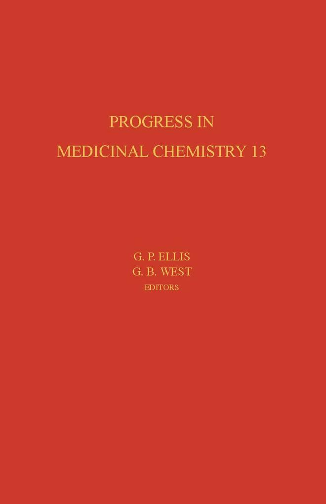 Progress in Medicinal Chemistry als eBook von - Elsevier S&T