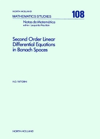 Second Order Linear Differential Equations in Banach Spaces