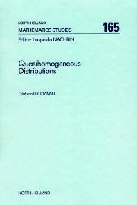 Quasihomogeneous Distributions