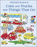 Cars and Trucks and Things That Go