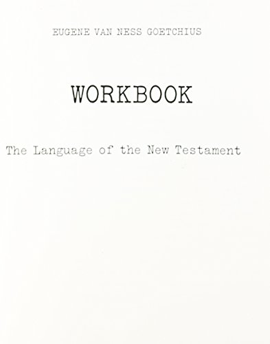 The Workbook for Language of the New Testament
