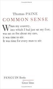 Common Sense - Paine, Thomas