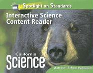 Spotlight on Standards Interactive Science Content Reader Grade 4 California Science