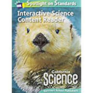 Harcourt School Publishers Science California: Interactive Science Cnt Reader Reader Student Edition Science 08 Grade 1 - Houghton Mifflin Harcourt