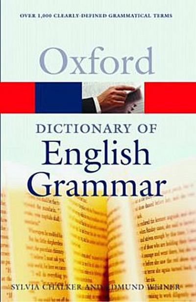 Oxford Dictionary of English Grammar - Sylvia Chalker