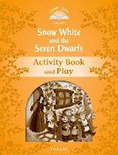 Snow White and the Seven Dwarfs Activity Book & Play - Sue Arengo