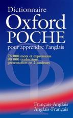 Dictionnaire Oxford Poche pour apprendre l'anglais (francais-anglais / anglais-francais) - Colin McIntosh (editor)