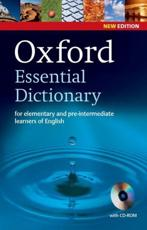 Oxford Essential Dictionary - Oxford University Press (COR)