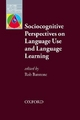 Sociocognitive Perspectives on Language Use and Language Learning - Robert Batstone