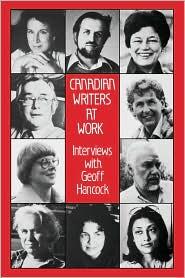 Canadian Writers At Work - Geoff Hancock