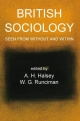 British Sociology Seen from Without and Within - A. H. Halsey; W. G. Runciman
