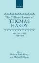 The Collected Letters of Thomas Hardy: Volume 2: 1893-1901 - Thomas Hardy; Richard Little Purdy; Michael Millgate