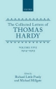 The Collected Letters of Thomas Hardy: Volume 5: 1914-1919 - Thomas Hardy; Richard Little Purdy; Michael Millgate
