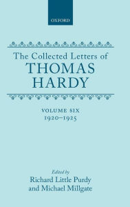 The Collected Letters of Thomas Hardy, 1920-1925 - Thomas Hardy