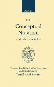 Conceptual Notation and Related Articles - Terrell Ward Bynum