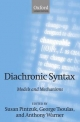 Diachronic Syntax - Susan Pintzuk; George Tsoulas; Anthony Warner