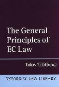 The General Principles of EC Law (O.L .L .)