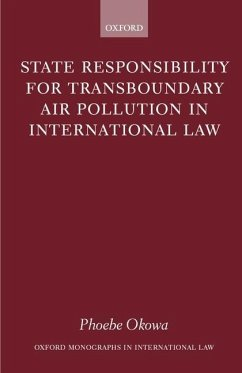 State Responsibility for Transboundary Air Pollution in International Law - Okowa, Phoebe N.