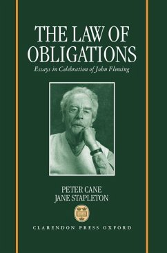 The Law of Obligations: Essays in Celebration of John Fleming - Fleming, John G.