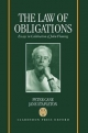 Law of Obligations - Peter Cane; Jane Stapleton