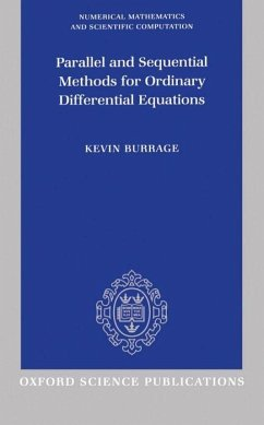 Parallel and Sequential Methods for Ordinary Differential Equations - Burrage, Kevin