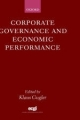 Corporate Governance and Economic Performance - Klaus Gugler