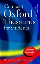 Compact Oxford Thesaurus for Students - Hawker, sara / Waite, Maurice (eds.)