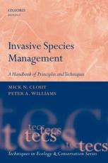 Invasive Species Management - Clout, Michael N. (EDT)/ Williams, Peter A. (EDT)