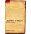 Cicero as Evidence - Andrew Lintott
