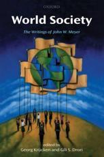 World Society - Georg Kr��cken (editor), Gili S Drori (editor)