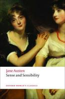Sense and Sensibility (Oxford World's Classics)