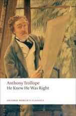 He Knew He Was Right - Anthony Trollope (author), John Sutherland (editor)