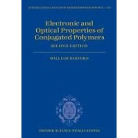 Electronic and Optical Properties of Conjugated Polymers - William Barford