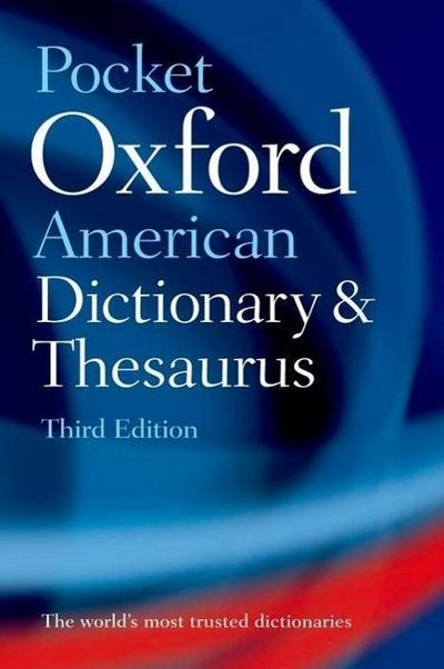 Pocket Oxford American Dictionary & Thesaurus - Oxford University Press
