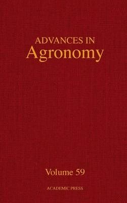 Advances in Agronomy: Volume 59 - Donald L. Sparks