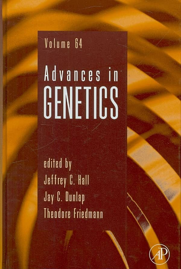 Advances in Genetics - Jeffrey C. Hall