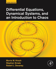 Differential Equations, Dynamical Systems, and an Introduction to Chaos - Morris W. Hirsch