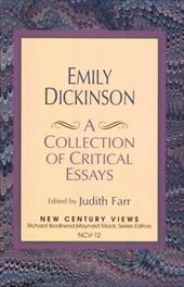 Emily Dickinson: A Collection of Critical Essays - Farr, Judith / Dickinson, Emily