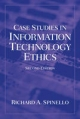 Case Studies in Information Technology Ethics - Richard A. Spinello