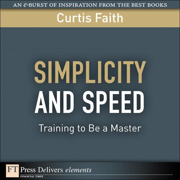 Simplicity and Speed als eBook von Curtis Faith - Pearson Technology Group
