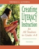 Creating Literacy Instruction for All Students in Grades 4 to 8 - Thomas G. Gunning