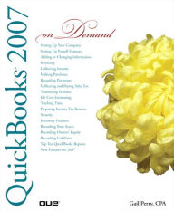 QuickBooks 2007 On Demand (Adobe Reader) - Gail Perry CPA