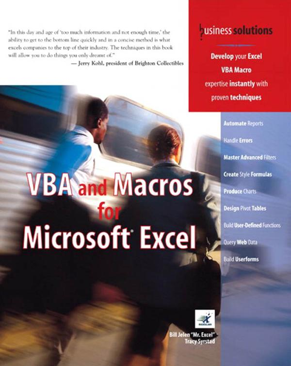 VBA and Macros for Microsoft Excel als eBook von Tracy Syrstad, Bill Jelen - Pearson Technology Group